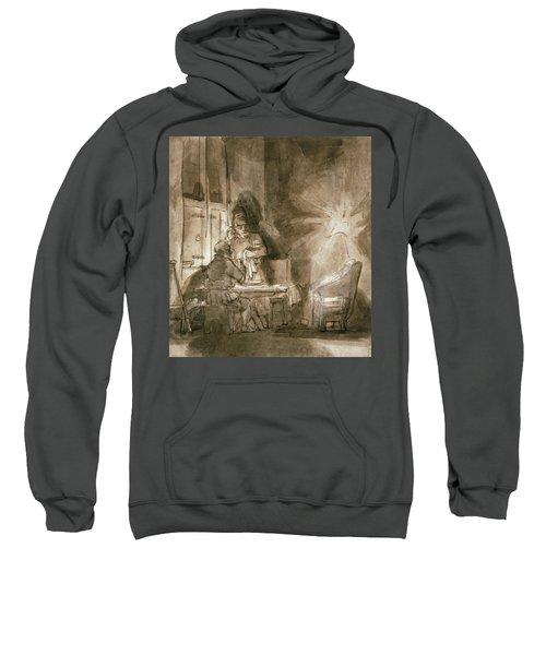 No.2139 Supper At Emmaus, C.1648-9 Sweatshirt