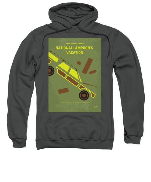 No412 My National Lampoons Vacation Minimal Movie Poster Sweatshirt