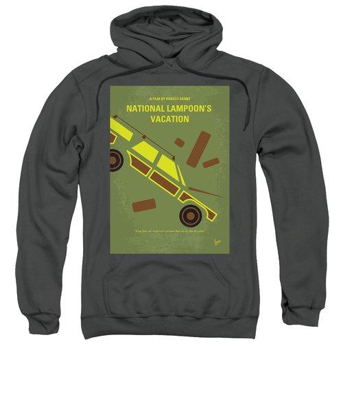 No412 My National Lampoons Vacation Minimal Movie Poster Sweatshirt