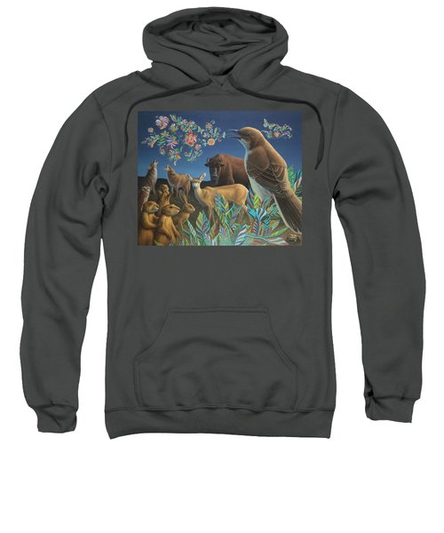 Nocturnal Cantata Sweatshirt by James W Johnson