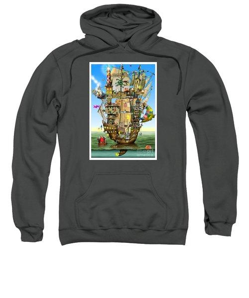 Norah's Ark Sweatshirt by Colin Thompson