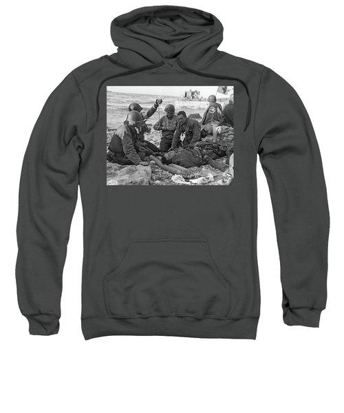 Normandy Invasion Medics Sweatshirt