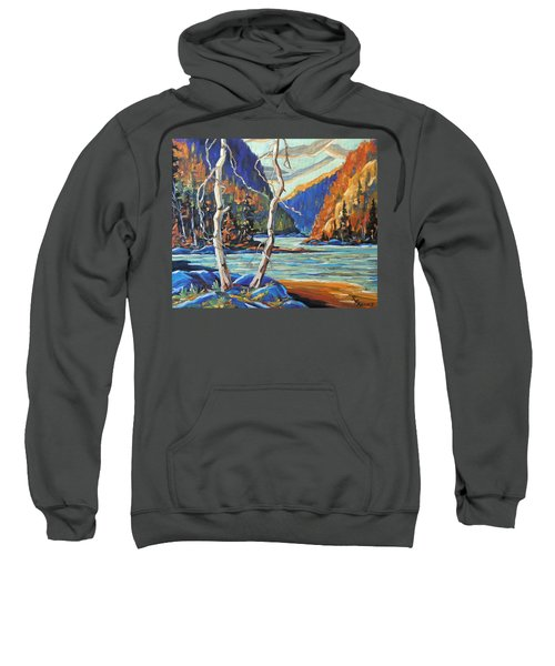 North West Lake By Prankearts Sweatshirt