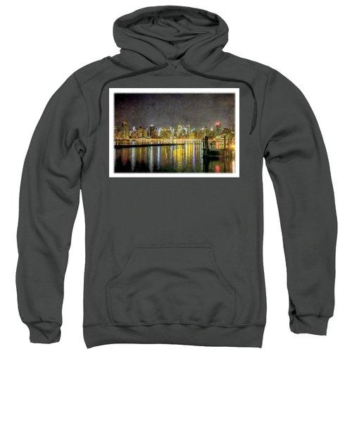 Nyc At Night Sweatshirt