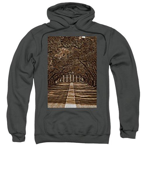 Oak Alley Bw Sweatshirt