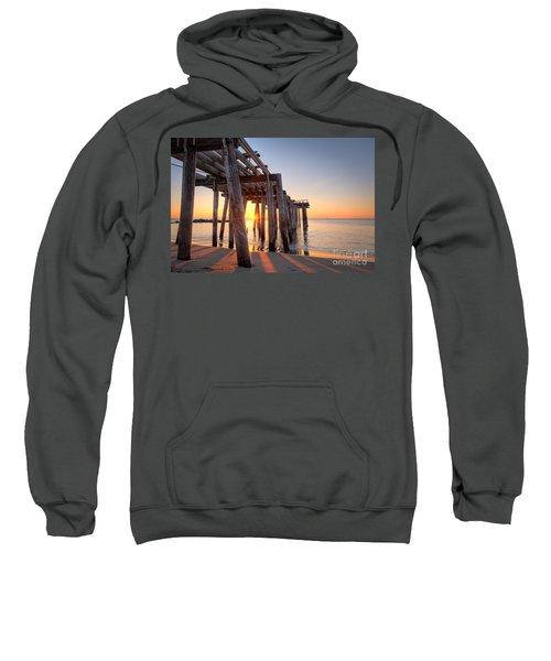 Ocean Grove Pier Sunrise Sweatshirt