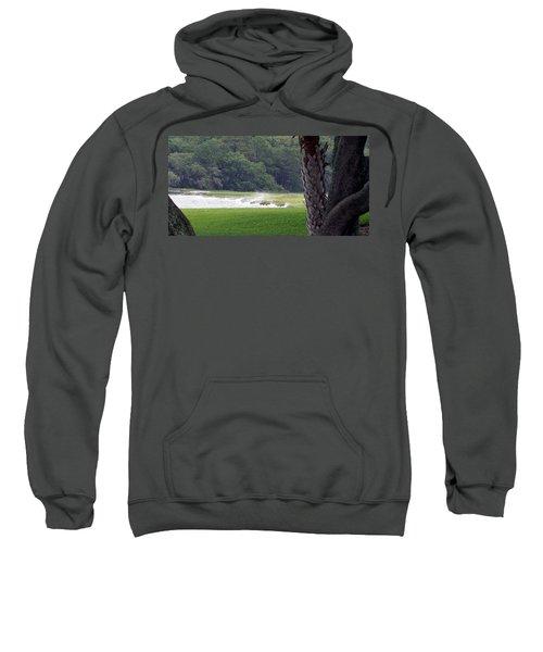 Sweatshirt featuring the photograph Ocean Spray At Hilton Head Island by Kim Pate