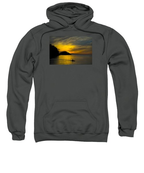 Ocean Sunset At Rosario Strait Sweatshirt
