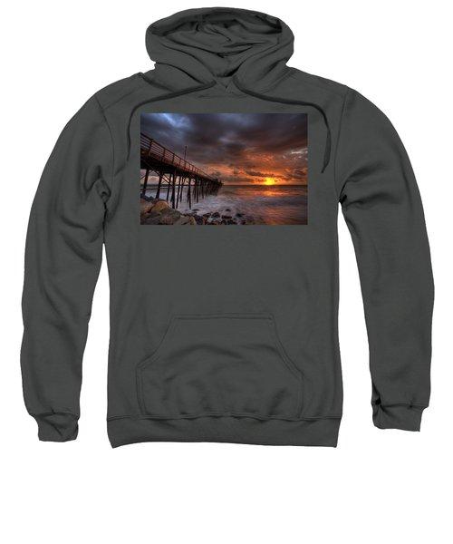 Oceanside Pier Perfect Sunset Sweatshirt
