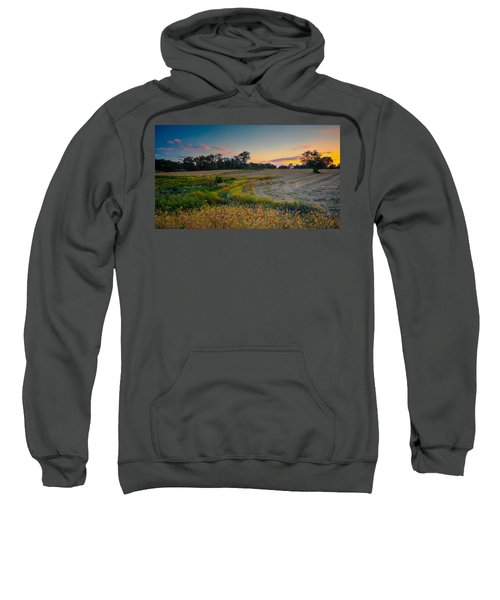 October Evening On The Farm Sweatshirt