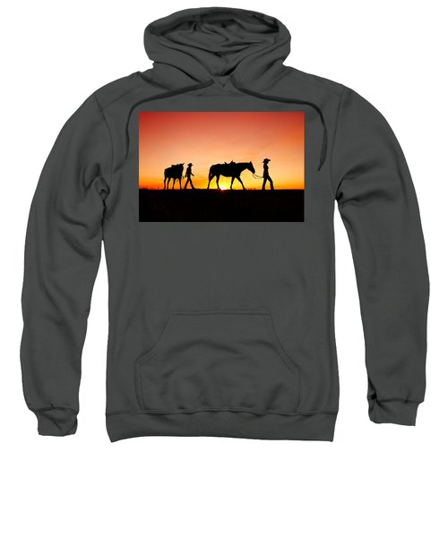 Off To The Barn Sweatshirt