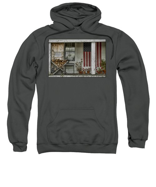 Old Apple Orchard Porch Sweatshirt