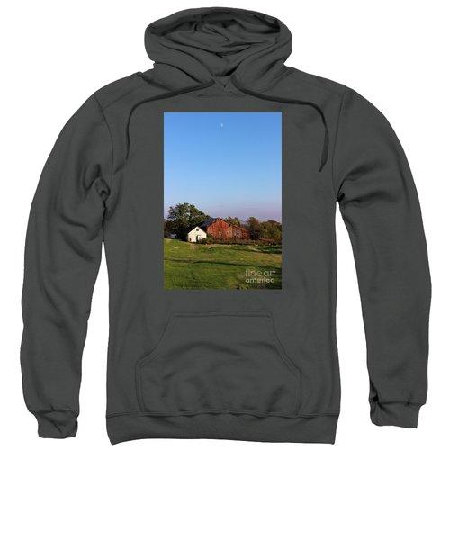 Old Barn At Sunset Sweatshirt