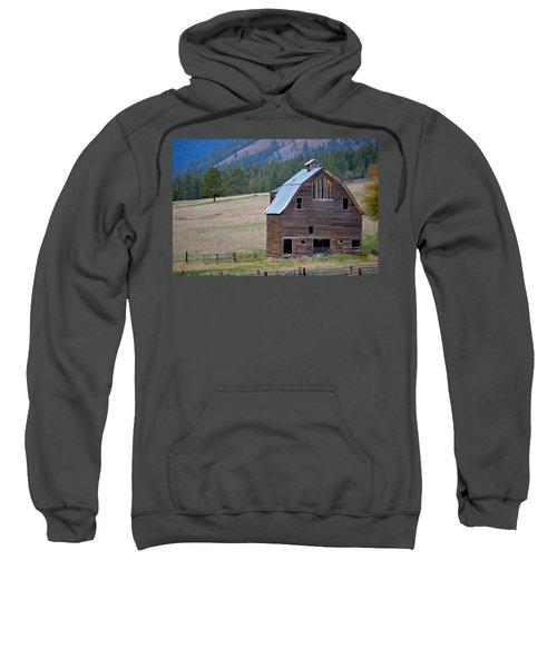 Old Barn In Washington Sweatshirt