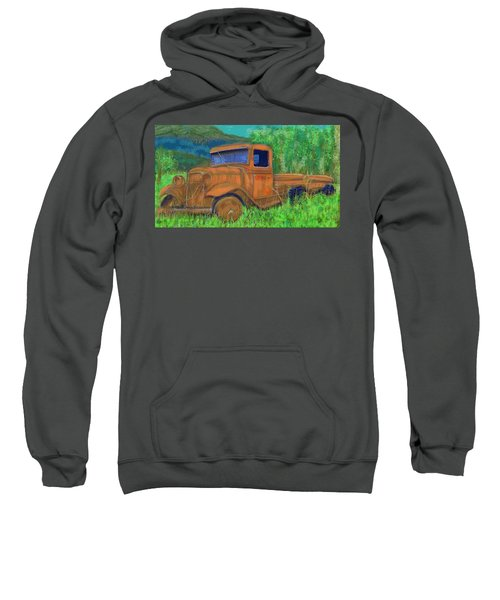 Old Canadian Truck Sweatshirt
