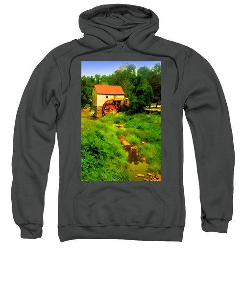 Old Mill In Springtime Sweatshirt