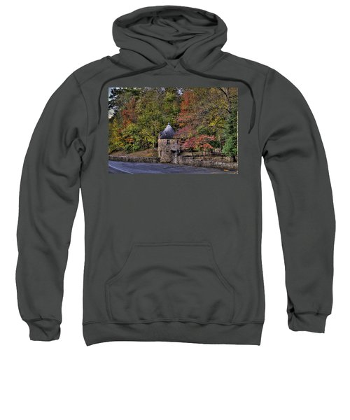 Sweatshirt featuring the photograph Old Stone Tower At The Edge Of The Forest by Jonny D