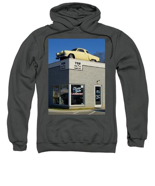 Old Studebaker Building Sweatshirt