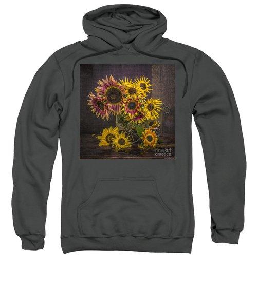Old Sunflowers Sweatshirt