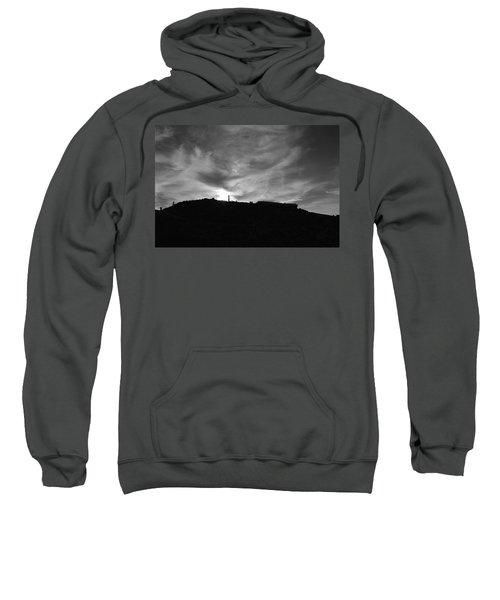 Ominous Sky Over Mt. Washington Sweatshirt