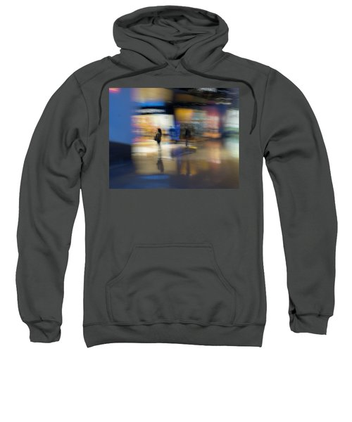 Sweatshirt featuring the photograph On The Threshold by Alex Lapidus