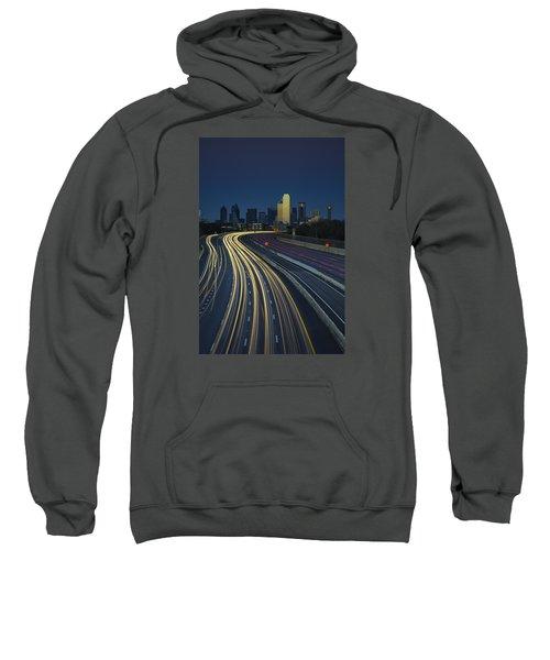 Oncoming Traffic Sweatshirt by Rick Berk