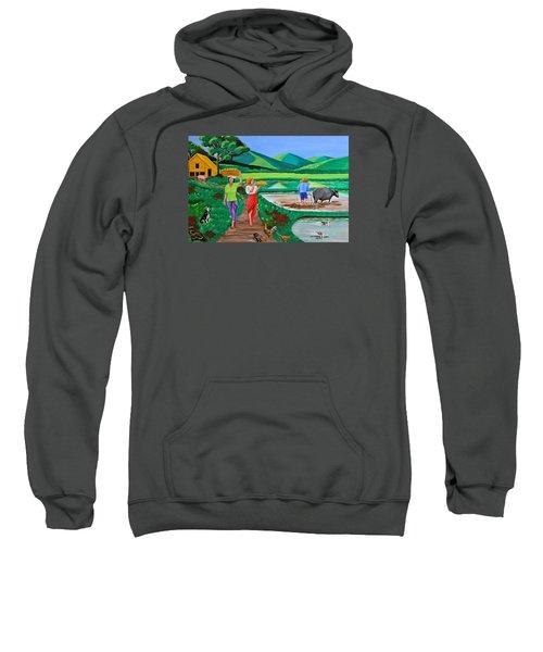 One Beautiful Morning In The Farm Sweatshirt