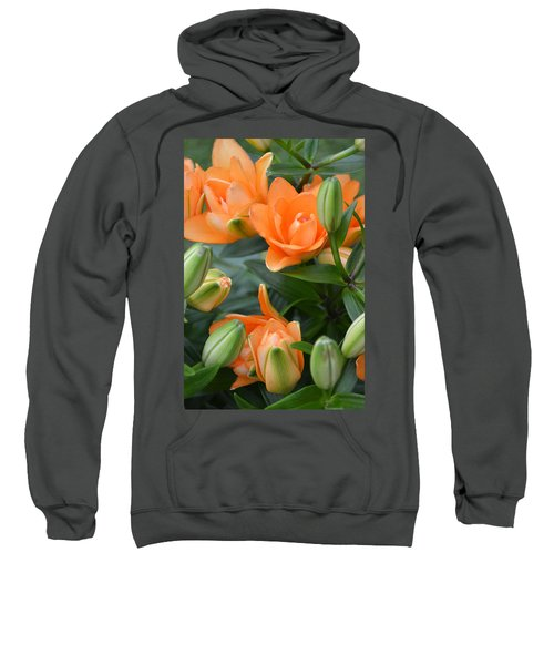 Orange Lily Sweatshirt