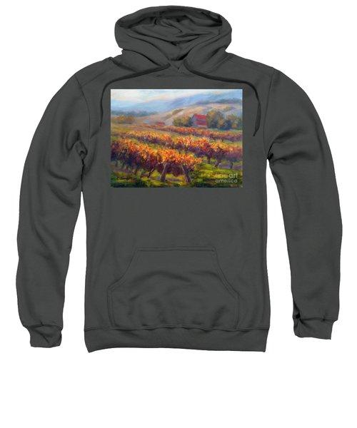 Orange Red Vines Sweatshirt