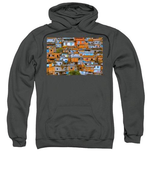 Orange Suburbs Sweatshirt