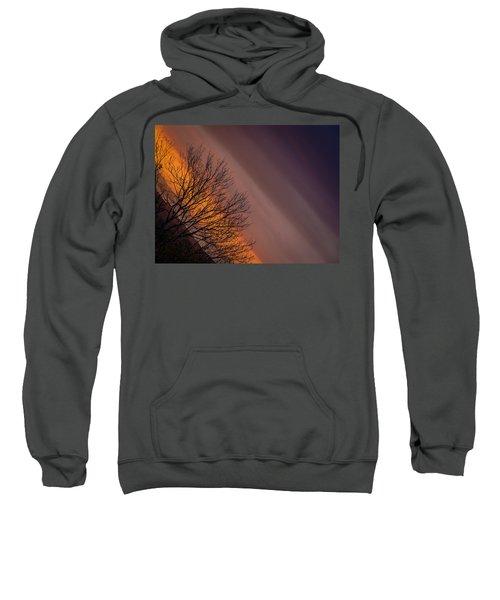 Orange Sunrise Sweatshirt