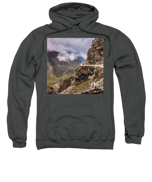 Our Bus Journey Through The Himalayas Sweatshirt
