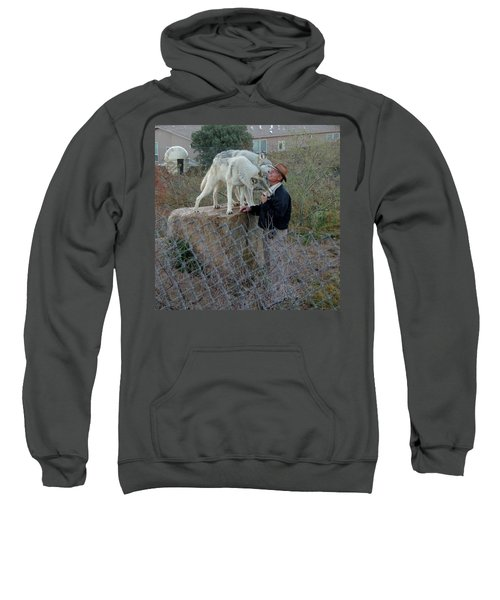 Out Of Africa  Friendly Wolves Sweatshirt