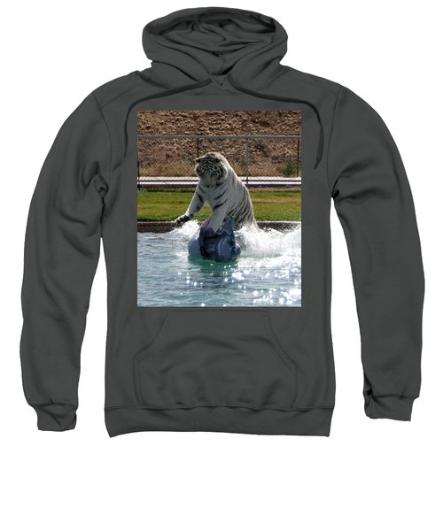 Out Of Africa Tiger Splash 1 Sweatshirt