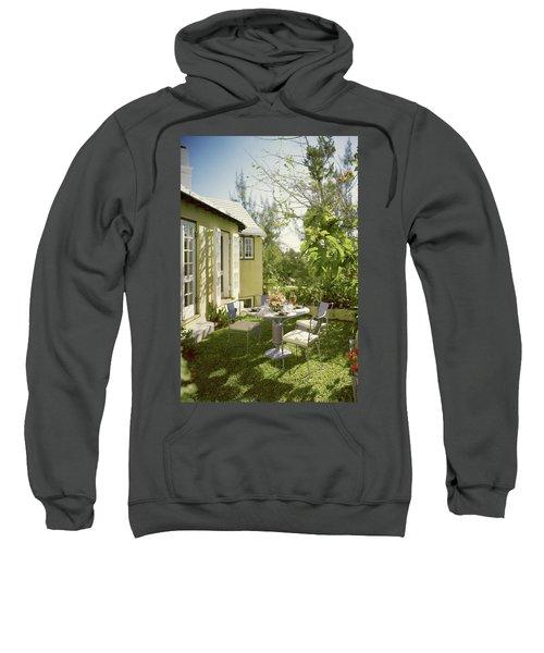Outdoor Furniture At Shoreland House Sweatshirt