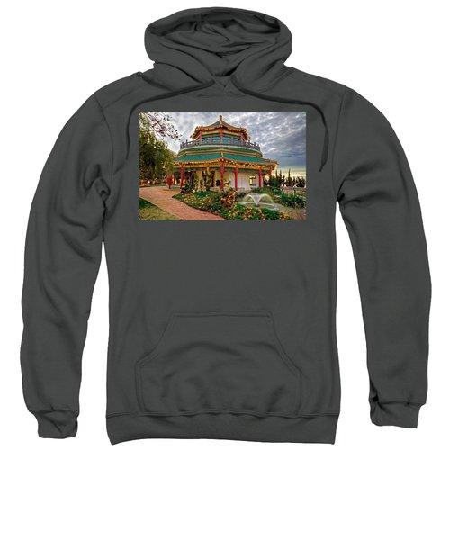 Pagoda In Norfolk Virginia Sweatshirt