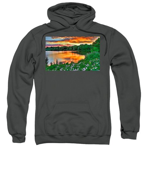 Painted Sunset Sweatshirt