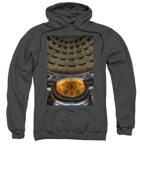 Pantheon Ceiling Detail Sweatshirt