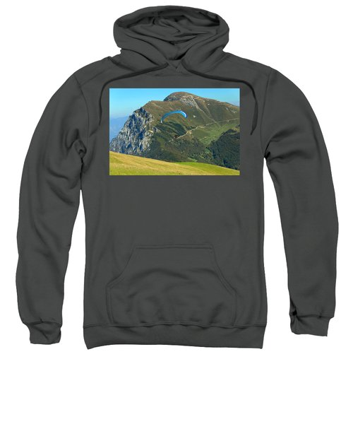 Paragliding In The Mountains II Sweatshirt