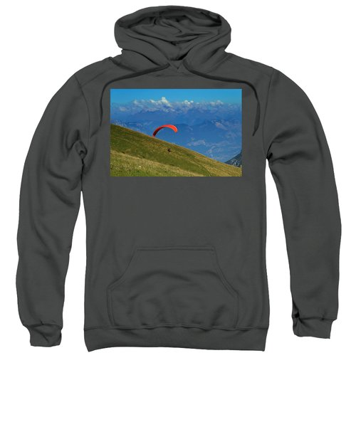 Paragliding In The Mountains Sweatshirt