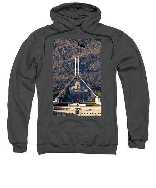 Parliament And War Memorial Australia Sweatshirt