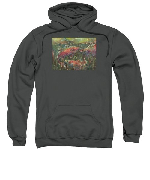 Party Under The Lily Pads Sweatshirt