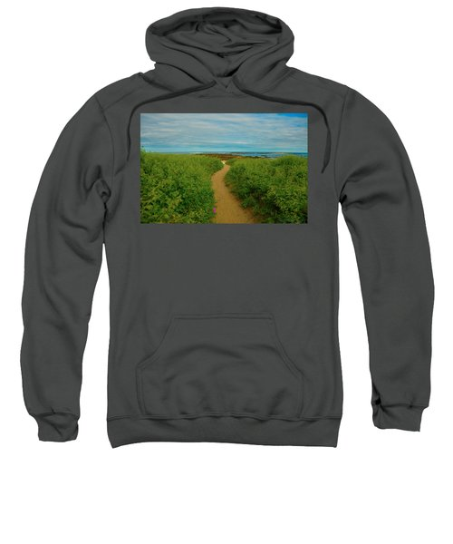 Path To Blue Sweatshirt