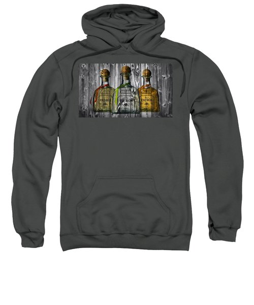 Sweatshirt featuring the photograph Patron Barn Door by Dan Sproul