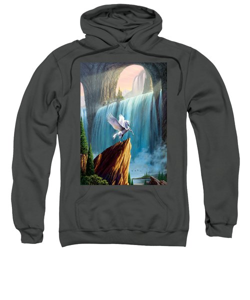 Pegasus Kingdom Sweatshirt by Garry Walton