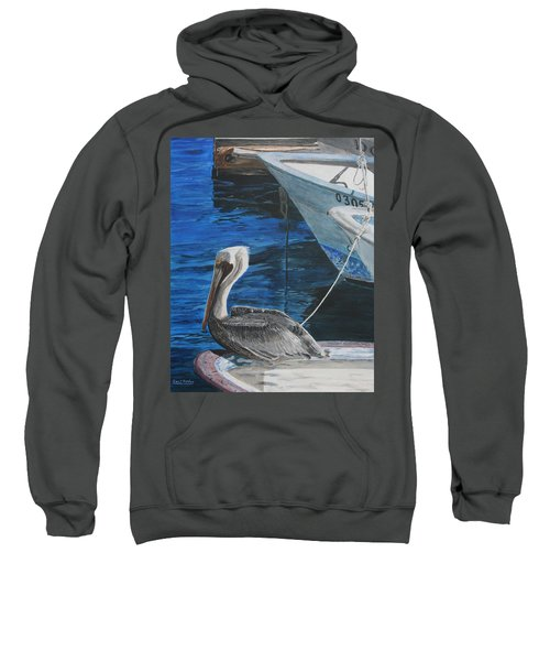Pelican On A Boat Sweatshirt