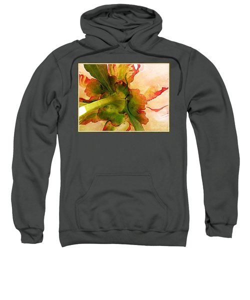 Peony Flirt Sweatshirt