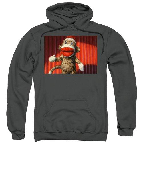 Performing Sock Monkey Sweatshirt