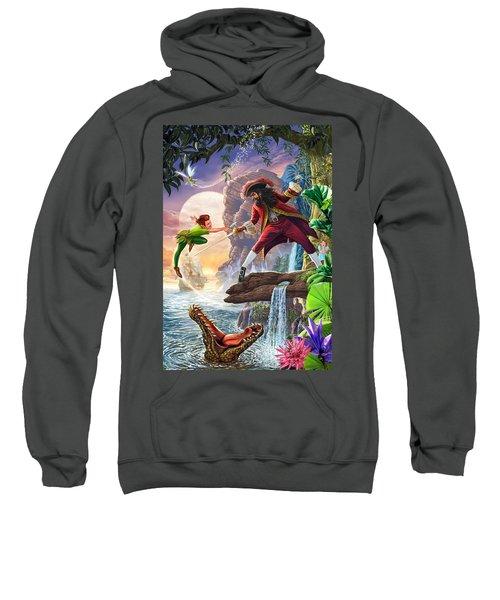 Peter Pan And Captain Hook Sweatshirt