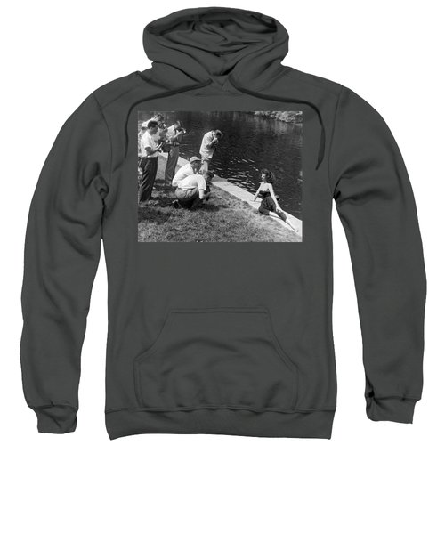 Photogenic Photo Shoot Sweatshirt